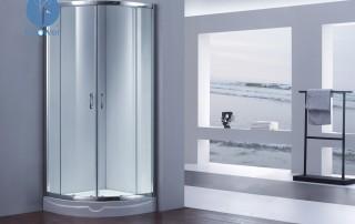 康健楼盘淋浴房:合景海南汀澜海岸淋浴房工程
