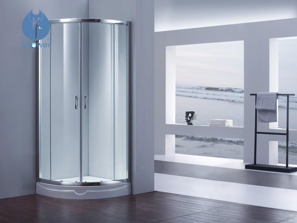 弧形淋浴房的特点和尺寸计算