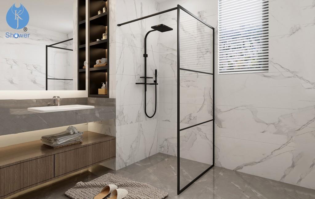 开放式淋浴房